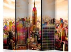Paraván - Colors of New York City III II [Room Dividers]